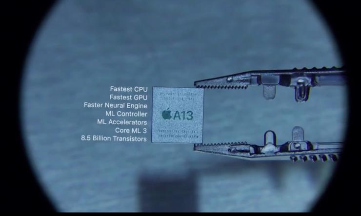 A13 Bionic 芯片,苹果发布会的真正亮点