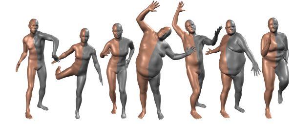 今天 Paper | 多人线性模型;身体捕捉;会话问答;天然言语解析;神经语义