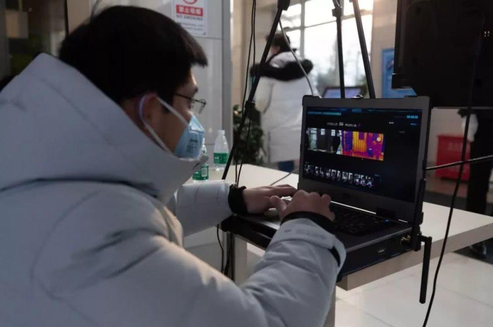 """北京部署""""快速AI体温检测仪"""":AI 技术帮助返岗人员,使接触新冠病毒的风险不断降低!"""