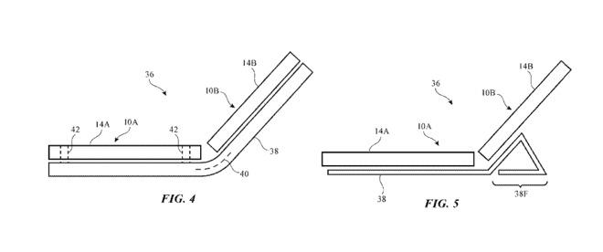 苹果最新专利:两个或多个设备以实现折叠屏效果可协同工作!