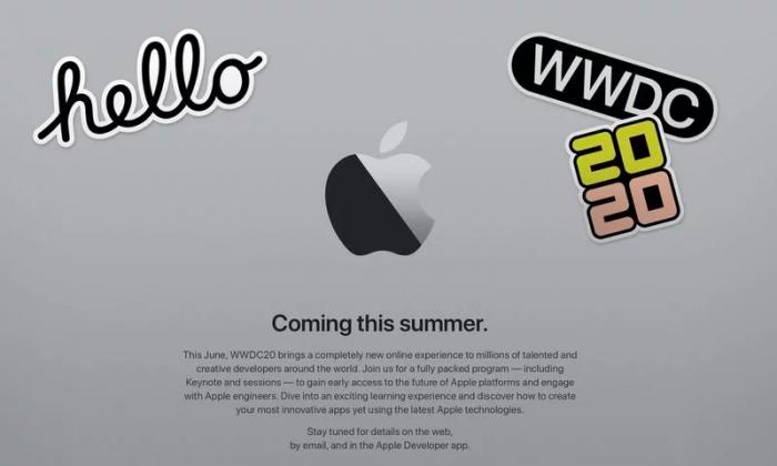 """020年苹果全球开发者大会将在线上举办!""""/"""