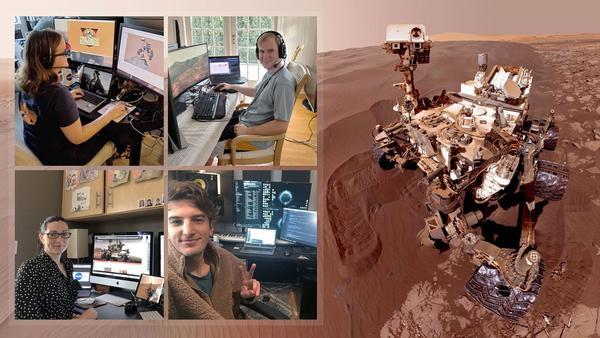 因新冠肺炎的影响,美宇航局在家操控火星探测器!