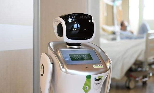 日本东京用机器人看护新冠肺炎患者!