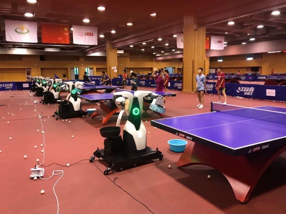 机器人亮相训练场,乒乓球的人工智能时代要来了吗?